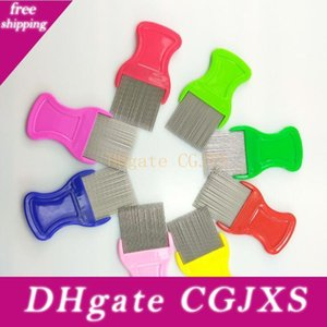 Pet Dog Lice peigne en acier inoxydable Cat Safe Lice Comb Safe intensif aiguille peigne Autres chiens Wy349