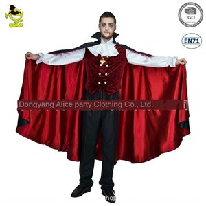 jWtqv Big male Acting Earl Halloween party role-playing masquerade Big male Acting clothing clothing vampire Earl Halloweenvampire party rol