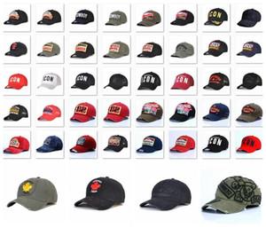 2020 atacado Melhores tampas ícone de venda chapéu d2 de beisebol bordado de luxo mens chapéus Boné ajustável Snapback homens capdsq2 golfe cap vobi7 #