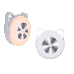 3D LED Cat Small Night Lamp Human Body Sensing Corridor Hanging Night Light Kitchen Wall Lamp Decor Vanity Wall Light