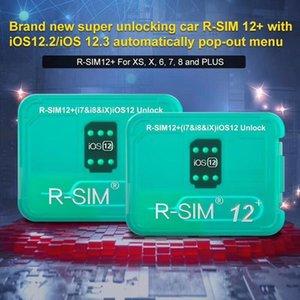 RSIM12 + Идеальный Unlock для ISO 12,3 R-сим 12+ Оригинал SIM-карты ICCID Unlock для Iphone XS X 8 7 VS R-SIM 14 Бесплатная доставка DHL