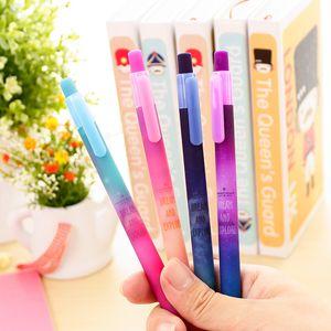 Schöne Starry Sky Gel Pen Star Dream und Entdecken Black Ink Pens Stationery Office-Material School Supplies
