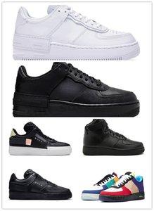 nike air force 1 af1 n354 Dunks altos homens mulheres baixo preto branco um trigo sapato malha uma das mulheres dos homens do desenhador Sports sapatilhas sapatos RG05