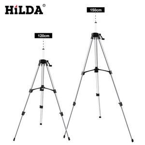 Laser Level HILDA treppiede regolabile Altezza addensare alluminio treppiede per autolivellante 1,2 / 1,5 m LJ200907