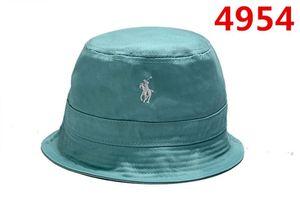 Neueste Art und Weise Polo-Wannen-Hüte Bobs gorras Knochen Qualitäts-Hiphop Blumen Marke Fischen Kappen für Männer Frauen Sportschalenkappe Abwurf