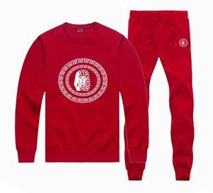 M885 Caldo-vendita di fe LK Felpe + vestito di pantaloni per uomini e donne in pile foderato Hip Hop Skateboard collo a giro Tute S-5XL
