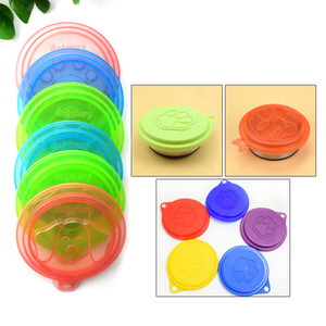 Reusable Food Can Lid Plastic Folding Can Lid Multi Styles Portable Pet Dog Cat Food Storage Can Cover Multifunction Reusable BH1037 TQQ