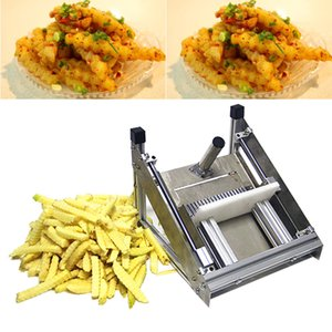 2020, arrugas de acero inoxidable CE onda plana de onda manual de la máquina de cortar de la máquina de corte de acero inoxidable máquina de corte de virutas de patata comercial