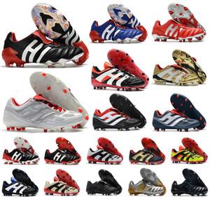 Classics Predator 20+ mutateur Mania Tourmenteur Accelerator Electricité de précision Champagne 20 + x FG chaussures de soccer d'homme crampons chaussures de football