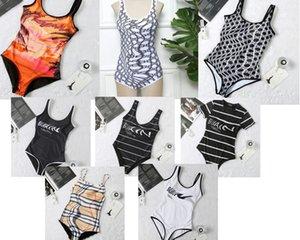 Fashion Cross Sling Letter Print Swimwear Bikini For Women Swimsuit Sexy Bathing Suit Verfeng21