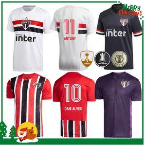 Сан-Паулу 2020 2021 Dani Alves футбол дом вдали 3-трикотажных изделий 20 21 COUTINHO Виниций вратарские футбольные майки