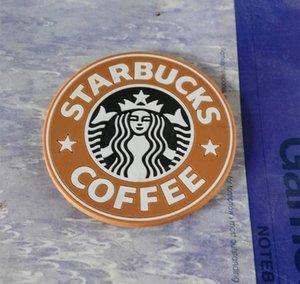 Coaster Круглого Mermaid Силиконовых японских чалды Маты Logo Krakens Placemats 8.3cm Старбакс Кубок Starbucks Кубок bbytA wrhome
