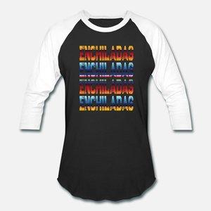 Shirt cibo messicano enchiladas Grunge T Uomini fitness Cotone S-XXXL Unico fitness nuovo modo Primavera Autunno Slim