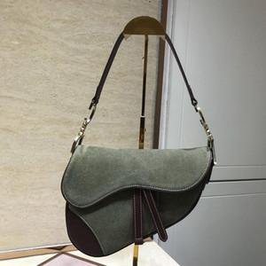 2020 selle nouvelle Manufacture Europe et en Amérique Sac de selle de haute qualité véritable noir sac en cuir poitrine modèle Crocodile # 5aPT Han Crossbody