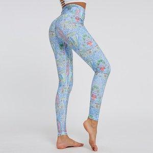 Outfits Йоги MindStream Высокая талия стрейч тощие брюки гимнастики Леггинсы женские бегать костюмы для тестик бодибилдинг