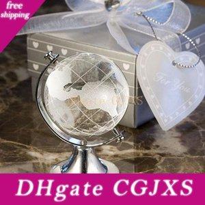 Crystal Globe Artigianato articoli di ritorno di cerimonia piccolo regalo della festa di compleanno di nozze ospiti presenti contenitore di regalo