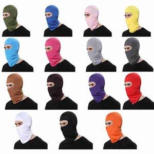 18 Цвет Открытых Балаклавы Спорт шея Face Mask Ski Snowboard Ветер Cap Велоспорт Балаклавы Фитнес Поставка мотоциклы Балаклавы CYZ2642