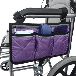 Wheelchair Side Pocket Portable Storage Bag Suitable For Mobile Equipment Accessories, Suitable For Most Walking Wheels