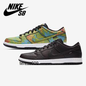 2020 nike Dunk SB Low Civilist x sb Dunk Running Shoes black Heat source reaction multi-color men women Sports Sneakers
