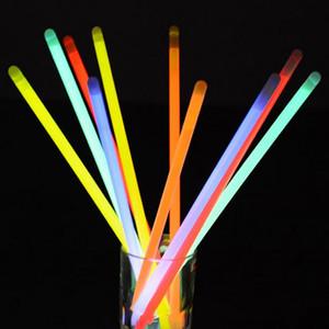 24 Pcs Glow Stick Color Bracelet Necklaces Neon Plastic Wand Novelty Toy LED Flash Stick Lights Stick Vocal Concert Bar Party CY BH2177