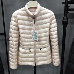 90% de pato blanco abajo cubren 2020 mujeres de invierno por la chaqueta ultra ligera de manga larga caliente de la capa Parka Mujer sólido portátil Outwear