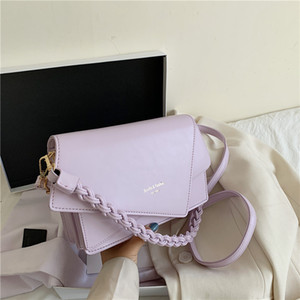 2020 Summer New Western Fashion Mode Portable style épaule Messenger Sac carré Sac Sling