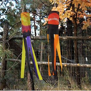 Halloween décoration fantôme Windsock festival Lampe citrouille Sèche-cheveux Girouette Halloween Fournitures Décorations DHE826