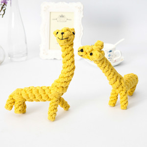 Factory direct sales pet toys animal series molar tooth cleaning cotton rope toys, cat toys wholesale dog bite resistant1