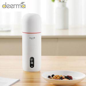 Deerma Hervidor eléctrico portátil térmica de la caldera Temperatura taza de café de agua del recorrido elegante del control de la caldera del agua