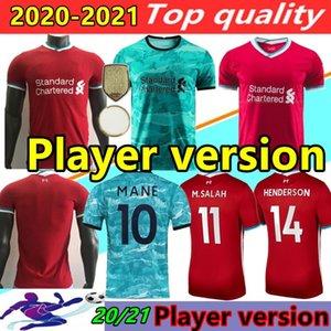 نسخة لاعب 20 21 بالقميص لكرة القدم 2020 maillots 2021 الكبار بعيدا المنزل لكرة القدم قميص الزي تخصيص دي لكرة القدم