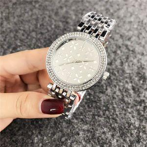 2020 nouvelle montre en acier inoxydable Bracelet montres de luxe de la marque de mode pour femmes Mesdames diamant femme horloge à quartz femme relogio Feminino