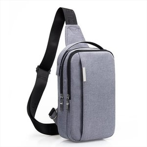 Brand Crossbody Bags For Men Chest Bag Pack Casual Messenger Bag Waterproof Nylon Single Shoulder Bag Strap Pack 2019 New