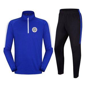 Montpellier HSC 2020 nouvelle section longue Survêtement de football veste peut être personnalisé sports de bricolage hommes en cours d'exécution Survêtement vêtements