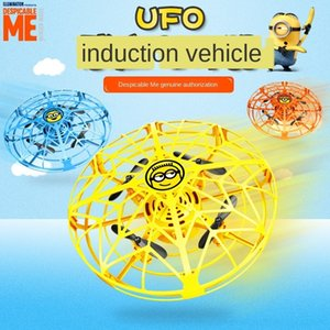 Véritable voleras Papa ufo jouet flottant sbires Tengyue de contrôle des avions de capteur de main enfants à distance jouets soucoupe volante NYPGQ