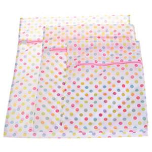 Soutien-gorge filet à mailles de lavage Sac pochette panier 50 * 60CM Lingerie Sacs à linge Imprimer Lave-Détergents Vêtements Sac Wash Machine Laundry BC BH0962-2