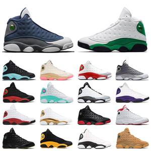 13 nuevos zapatos de baloncesto 13s inversa Una mala jugada Flint Año Nuevo Chino deportivos y verde trébol Jumpman zapatillas de deporte para hombre formadores