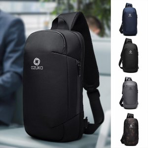 Designer-Mens Multi function Messenger Bag Anti theft Waterproof Travel Chest Bag Fashion Oxford Bags sac main 20