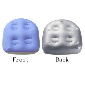 2pcs Indietro Pad Spa Cuscino, gonfiabile Massage Mat, impermeabile Vasca da bagno digitopressione vasca idromassaggio morbida Booster Seat per Adulti Bambini