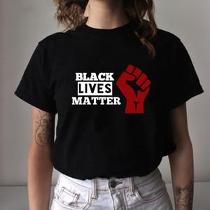 DIY Custom Made Black Lives Matter Soft Graphic T Shirt BLM Casual Summer T-shirt I Can't Breathe Short Sleeve Tshirt Hip Hop Newest Top