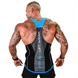 Brand Mens Sleeveless T Shirts Summer Men Tank Tops Clothing Bodybuilding Undershirt Casual Fitness Men's Underwear Tank Tops Tees