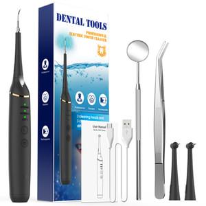 Outils dentaires Dents Calculs Calculs Calcul électrique Tartar CLASTER PLAQUE PLAQUE NETTOYEUR DENTAIRE EN ACIER INOXURABLE AVEC MODRE DE BOUCHE