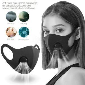 PM2,5 utile Masque pour air Masques Anti Pollution Masque Visage WashableReusable