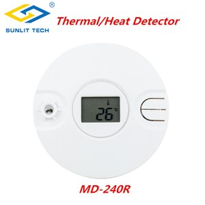 1 5 10pcs Wireless Intelligent Thermal Smoke Sensor Alarm System for 433MHz 868MHz Home Fire Heat Thermal Sensor Detector