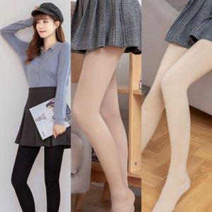 Oc4to hip-levage chaud culasse en nylon avec Breech automne et hiver fil chaussettes leggings femmes nouveau pantalon de coton mince chaud tout-en-un pantalon