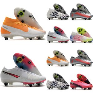 2020 hochwertige Mensfußballschuhe Mercurial Superfly 7 Elite SG-PRO AC Outdoor Fußballschuhe CR7 Fußballschuhe scarpe da calcio heiß