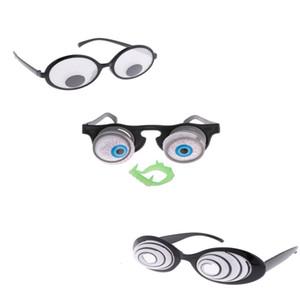 Cadılar Bayramı Noel Partisi Hareketli Komik Gözküresi Gözlük Gözlükler yortusu Kostüm Fantezi Elbise Yenilik Şaka Hediyeler Yana