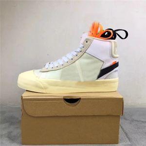 2021 Blazer original Mid Queen 2.0 Grim Reaper All Sallows Eve Serena Williams Blanco Hombres Mujeres Zapatos al aire libre Deportes Zapatillas de deporte con caja