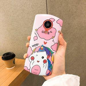 Coreia do Sul dos desenhos animados Casal Unicorn Meitu T9 Limited Edition Mobile Phone Shell M8S silicone suave Meitu T9 caso protetor Mp1710 Creati