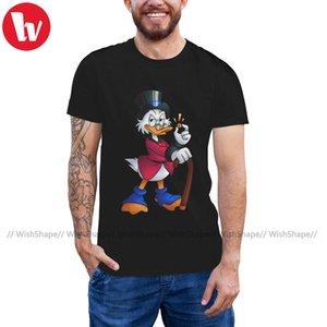 Zio Paperone maglietta Paperon de 'Paperoni T-shirt in cotone 100 Estate Maglietta Uomini Carino Xxx Short-Sleeve Tshirt