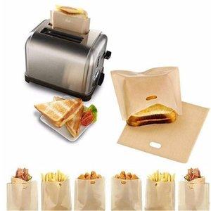 Тефлон тостер сумка многоразовые жареный сыр Бутерброды Сумка Антипригарная запеченный Тост Хлеб Сумка Кухня магазин Тост Хлеб СУМОЧКА